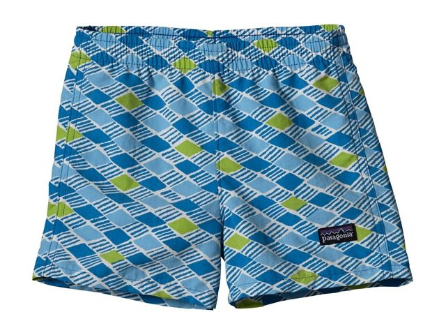 Patagonia Baby Baggies Shorts Treas Grove Pepp Green (570)